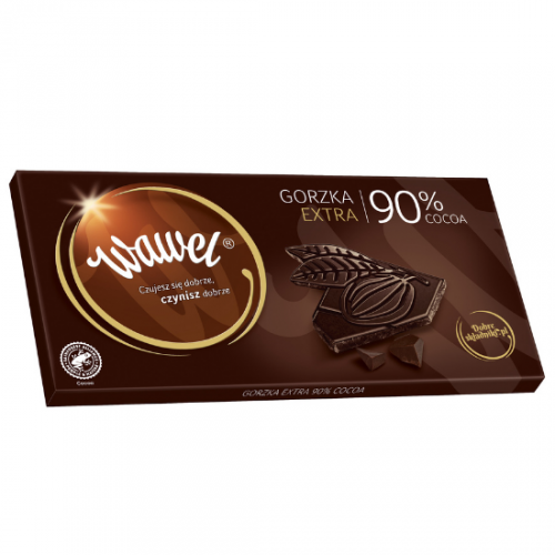 Gorzka extra 90% cocoa