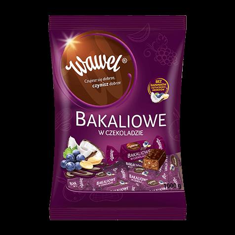 Bakaliowe w czekoladzie