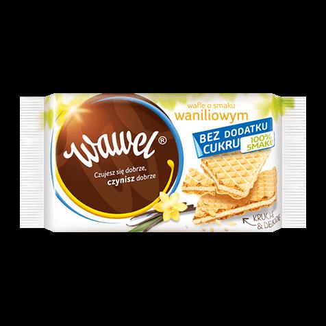 Wafle o smaku waniliowym