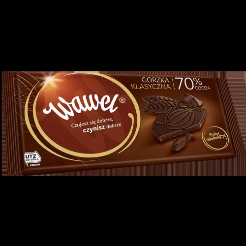 Gorzka Klasyczna 70% cocoa
